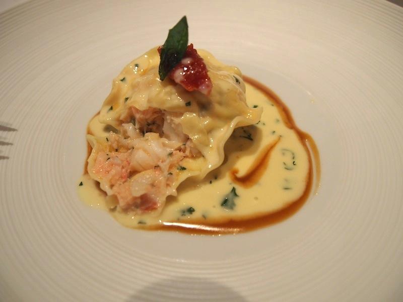 Lobster Bisque Ravioli | Lobster House